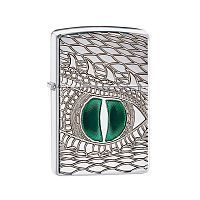 Зажигалка ZIPPO Armor™ с покрытием High Polish Chrome, латунь/сталь, серебристая, 36x12x56 мм, 28807