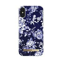 "Чехол для iPhone X/XS iDeal, ""Sailor Blue Bloom"""
