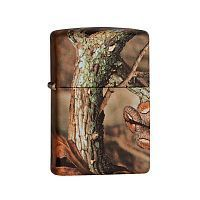 Зажигалка ZIPPO MOSSY OAK® BREAK-UP INFINITY, латунь/сталь, камуфляж, матовая, 36x12x56 мм, 28738